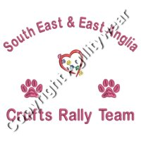 SE & EA Crufts Rally Team Back Logo