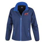 Red Dog Agility - Result Core Ladies Printable Softshell jacket