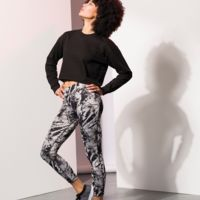 Women's reversible work-out leggings Thumbnail
