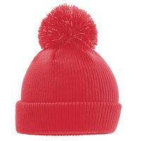 Junior reflective bobble beanie Thumbnail