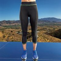 Women's capri fitness leggings Thumbnail