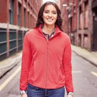 Women's full-zip fitted microfleece Thumbnail