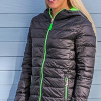 Result Urban Ladies Snowbird Hooded Jkt Thumbnail