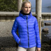 Women's Urban snow bird hooded jacket Thumbnail