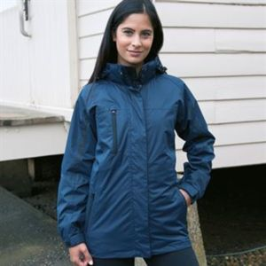 Women's 3-in-1 journey jacket with softshell inner Thumbnail