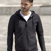 Russell Mens HD Zipped Hooded Sweat Thumbnail