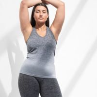 Women's seamless fade out vest Thumbnail