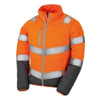 Women's soft padded safety jacket Thumbnail