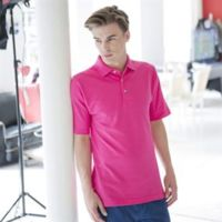 Classic polo with stand up collar Thumbnail