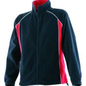 Piped microfleece jacket Thumbnail
