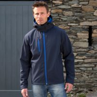 Result Core TX performance Hooded Softshell Jacket Thumbnail
