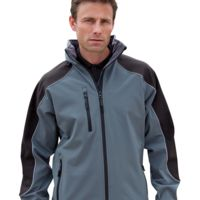 Ice fell hooded softshell jacket Thumbnail