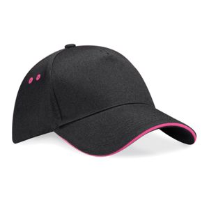 Ultimate 5 Panel Contrast Cap with Sandwich Peak Thumbnail