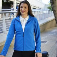 Women's full-zip microfleece Thumbnail