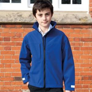 Junior classic softshell 3 layer jacket Thumbnail