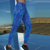 Women's TriDri® performance crossline leggings full-length Thumbnail