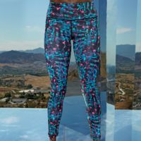 Women's TriDri® performance neon marine leggings full-length Thumbnail
