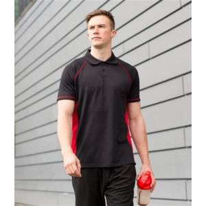 Piped performance polo Thumbnail