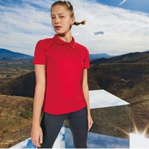 Women's panelled TriDri® polo Thumbnail