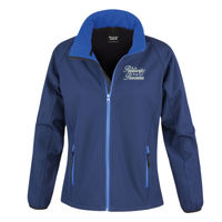 Positively Pawsome - Result Core Ladies Printable Softshell jacket Thumbnail