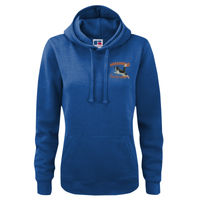 Awesome Performance - Russell Ladies Authentic Hooded Sweat Thumbnail