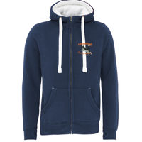 Awesome Performance - Sherpa Fleece Zip Hoodie-Peach Finished Thumbnail