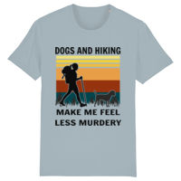 Border Terrier Hiking - Stanley and stella 100% Organic Unisex Creator iconic t-shirt  Thumbnail