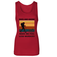 Border Terrier Hiking - Soft Style™ Women's Tank Top Thumbnail