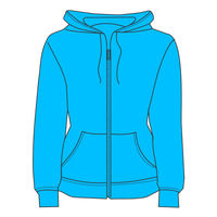 Wundermutts Ladies FOTL Hoodie - Lady-fit hooded sweat jacket Thumbnail