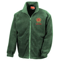 Caerphilly  - Full zip Active fleece  (With Back Logo) Thumbnail