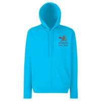 Wundermutts Classic 80/20 hooded sweatshirt jacket Thumbnail