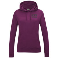 Dog Agility Training - Girlie college hoodie Thumbnail