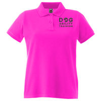 Dog Agility Training - Lady-fit premium polo Thumbnail