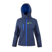 Canine Kinetics Agility - Result Core TX performance ladies Hooded Softshell Jacket Thumbnail