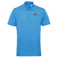Epic Agility panelled sports polo Shirt. Thumbnail