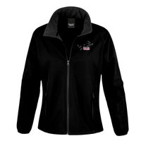 MJS Agility - Result Core Ladies Printable Softshell jacket Thumbnail