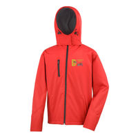 Barkaway - Result Core TX performance Hooded Softshell Jacket Thumbnail