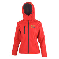 Barkaway - Result Core TX performance ladies Hooded Softshell Jacket Thumbnail