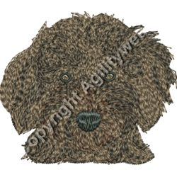 Cockapoo Head Brown Thumbnail