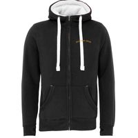 Sherpa Fleece Zip Hoodie-Peach Finished Thumbnail